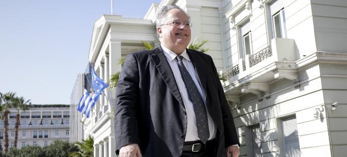Ο Νίκος Κοτζιάς (Φωτογραφία: EUROKINISSI/ΓΙΑΝΝΗΣ ΠΑΝΑΓΟΠΟΥΛΟΣ)
