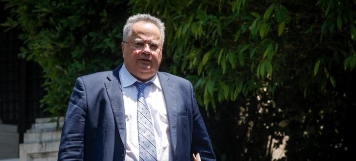 Νίκος Κοτζιάς-Υπουργός Εξωτερικών, Φωτογραφία: Eurokinissi/ΧΡΗΣΤΟΣ ΜΠΟΝΗΣ