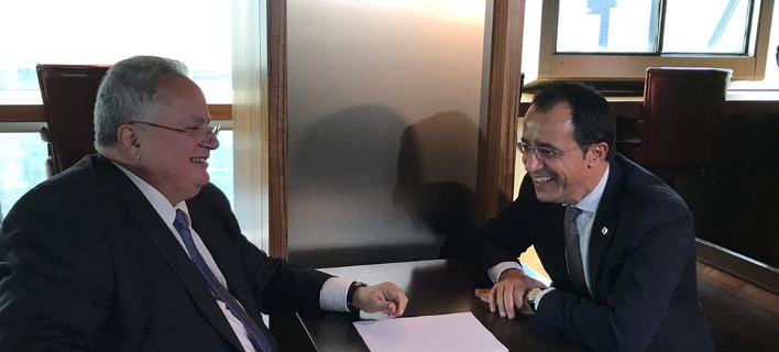 Συνάντηση με τον Νίκο Χριστοδουλίδη/Φωτογραφία Twitter