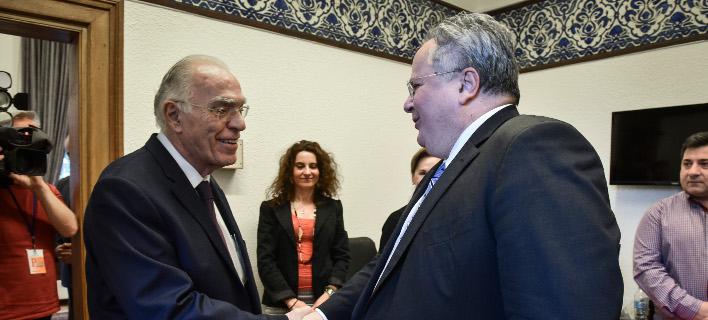 Λεβέντης μετά τη συνάντηση με Κοτζιά: «Η κυβέρνηση να πείσει την ΠΓΔΜ να αλλάξει τη θέση της»