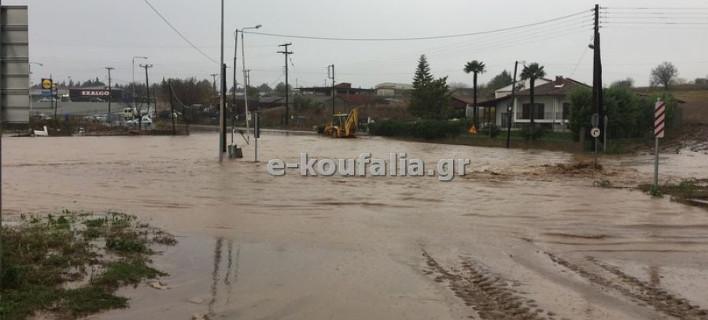 Ισχυρή κακοκαιρία στην Κεντρική Μακεδονία- Πτώσεις δέντρων και πλημμύρες [εικόνες]