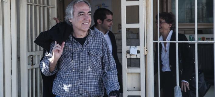 Σάλος αντιδράσεων εντός και εκτός Ελλάδας για την άδεια στον Κουφοντίνα /Φωτογραφία: Sooc-Nikos Libertas
