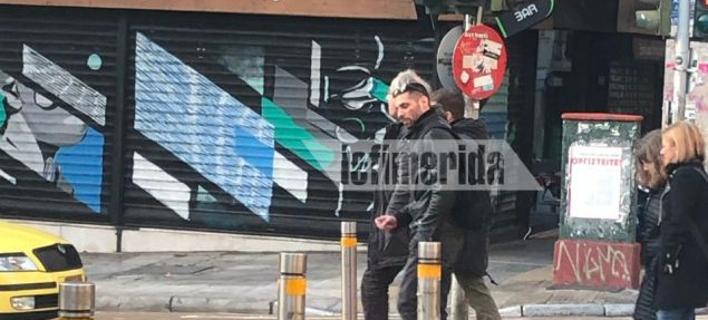 Ο Δημήτρης Κουφοντίνας κάνει βόλτα στο κέντρο της Αθήνας!