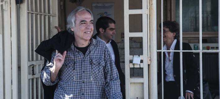 Ο εκτελεστής της 17Ν σταματά την απεργία πείνας -Εγκρίθηκε και τρίτη 48ωρη άδεια-Φωτογραφία: Nikos Libertas / SOOC