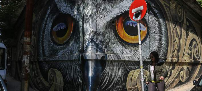 Πώς η θυμωμένη street art μεταμόρφωσε την Αθήνα σε μια πιο μοντέρνα πόλη [εικόνες]