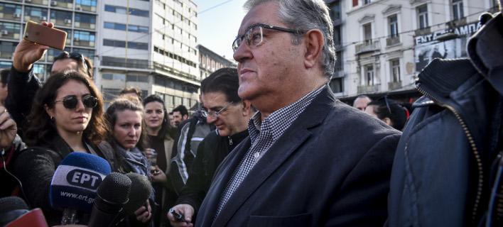 Δημήτρης Κουτσούμπας, φωτογραφία: EUROKINISSI/ΤΑΤΙΑΝΑ ΜΠΟΛΑΡΗ