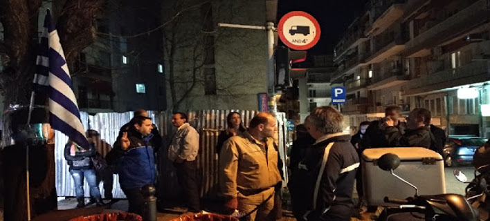 Θεσσαλονίκη: Συγκέντρωση συμπαράστασης στους 2 Eλληνες στρατιωτικούς [εικόνες]