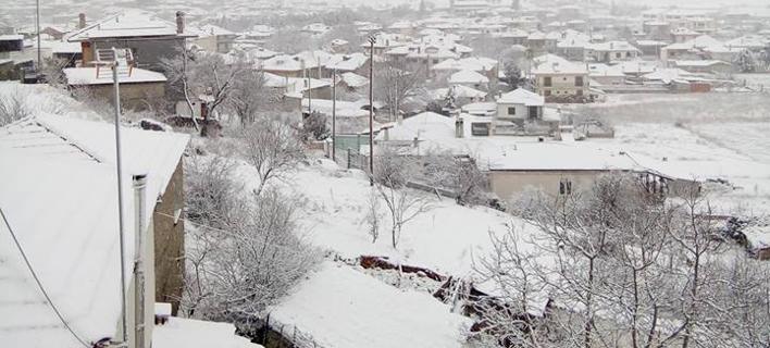 Στα λευκά η δυτική Μακεδονία, Φωτογραφία: kozanimedia
