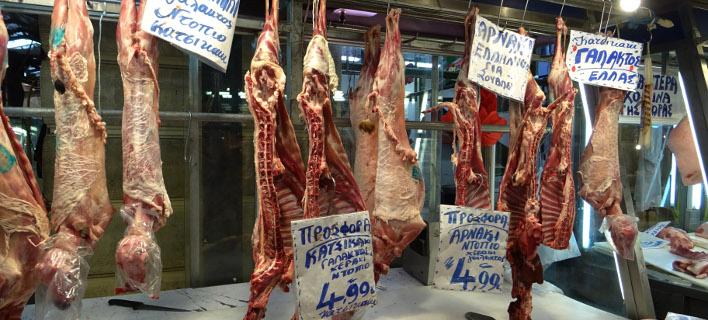 κατάσχεση ακατάλληλου κρέατος/Φωτογραφία: Eurokinissi