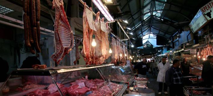 Στιγμιότυπο από τη Βαρβάκειο Αγορά/Φωτογραφία αρχείου: Eurokinissi