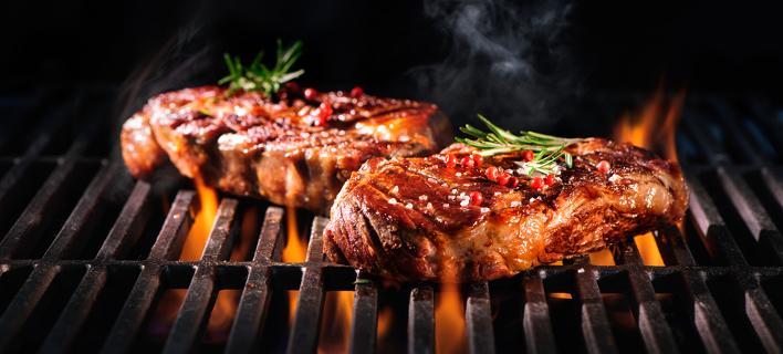 Κρέας στη σχάρα /Φωτογραφία: Shutterstock/Alexander Raths