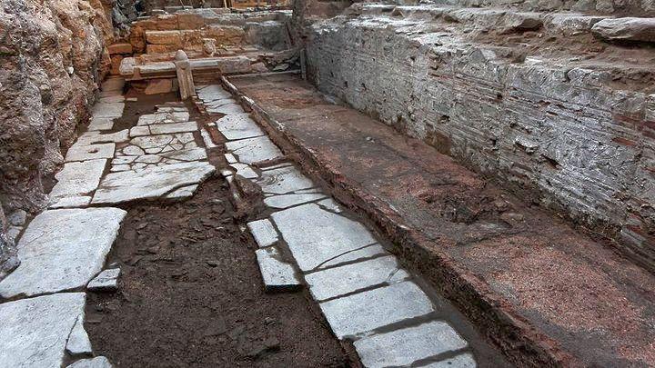 Ολοκληρώνονται τέλος του 2018 οι αρχαιολογικές εργασίες σε Αγ. Σοφίας & Βενιζέλου στη Θεσσαλονίκη