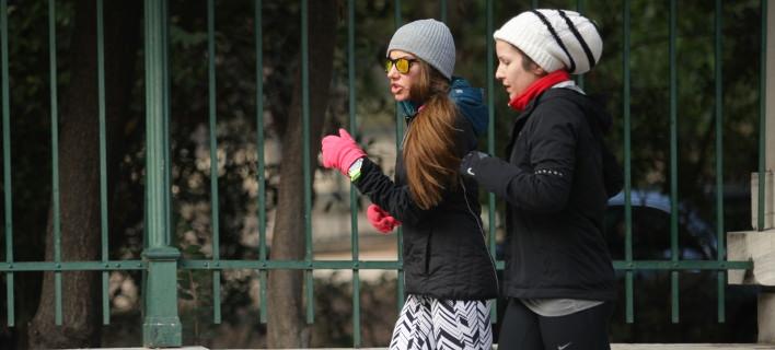 Γυναίκες κάνουν Jogging/ Φωτογραφία: Εurokinissi