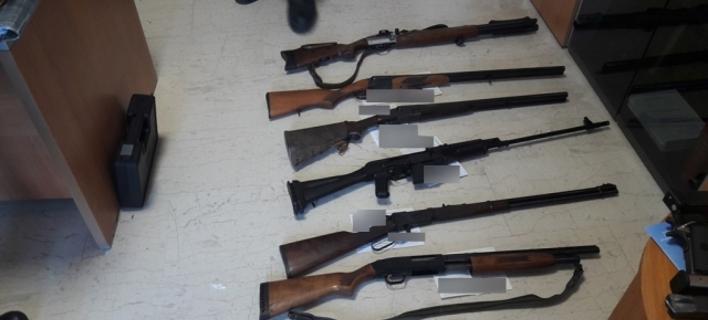Κρήτη: Αυτό είναι το οπλοστάσιο που βρήκε η ΕΛ.ΑΣ σε πολυτελή κατοικία 54χρονου [εικόνες]