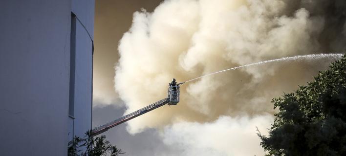 Μέτρα για τη στέγαση των φοιτητών μετά την πυρκαγιά (Φωτογραφία: EUROKINISSI)