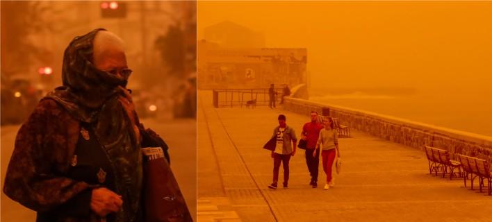 Η αφρικανική σκόνη επιστρέφει στην Κρήτη -Κλείνουν σχολεία