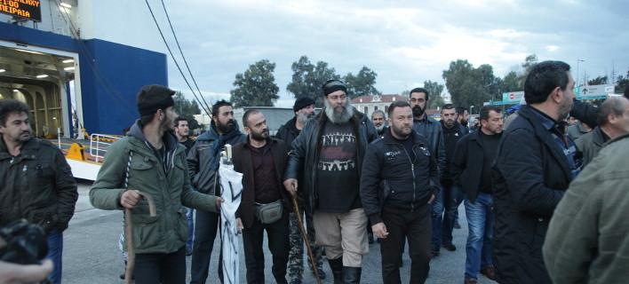 Στην Αθήνα αγρότες από την Κρήτη/Φωτογραφία: Eurokinissi