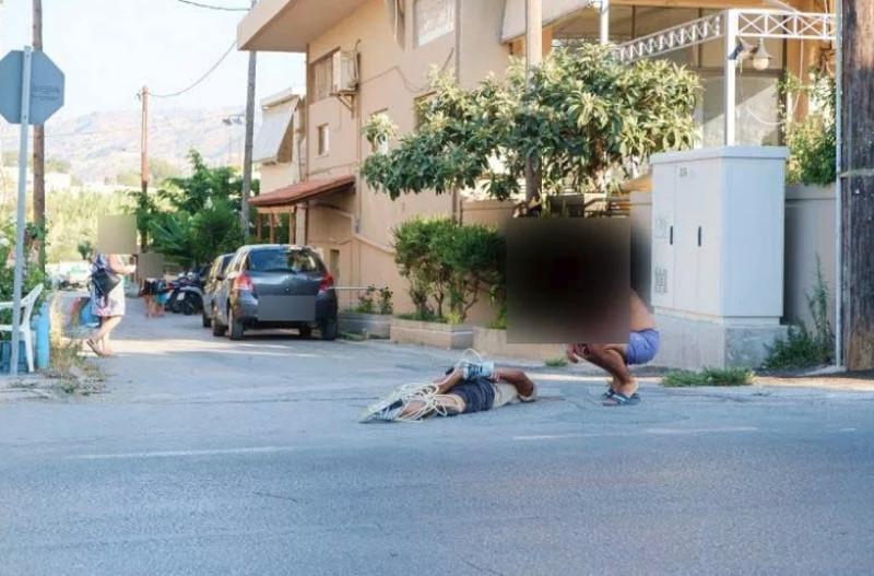 Τον αφόπλισαν, τον κυνήγησαν και αφού τον έδειραν..τον έδεσαν με καλώδια- φωτογραφία parakritika.gr