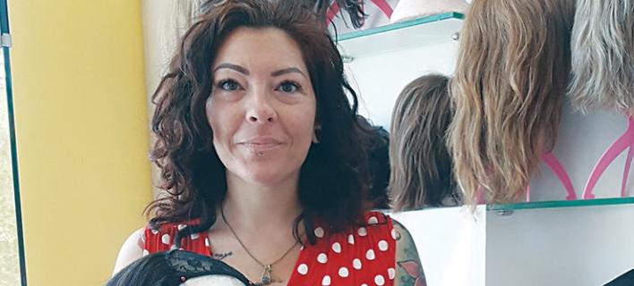 Η κυρία Ζεφιάνα Μεταλλιωτάκη/ Φωτογραφία: neakriti.gr