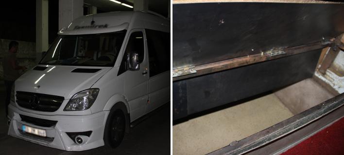 Μετέφεραν μετανάστες στην Ελλάδα σε κρύπτη κάτω από καθίσματα οχήματος [εικόνες]