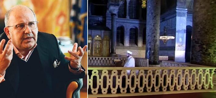 Σοκαριστική δήλωση Ξυδάκη για την ανάγνωση του Κορανίου στην Αγιά Σοφιά: Δεν είναι και κάτι τραγικό...