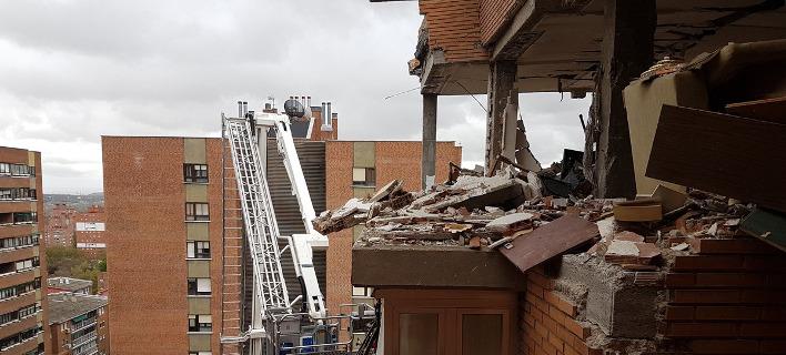 Μαδρίτη: Εκρηξη σε κτίριο από διαρροή αερίου -16 τραυματίες [εικόνες]
