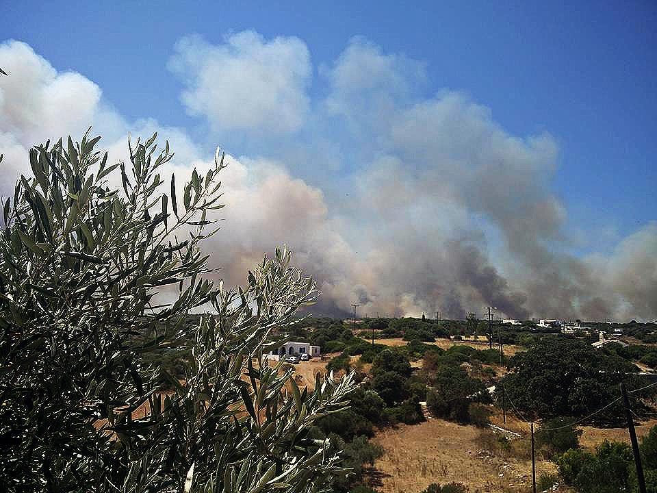Αποτέλεσμα εικόνας για πυρκαγιά στα Κυθηρα