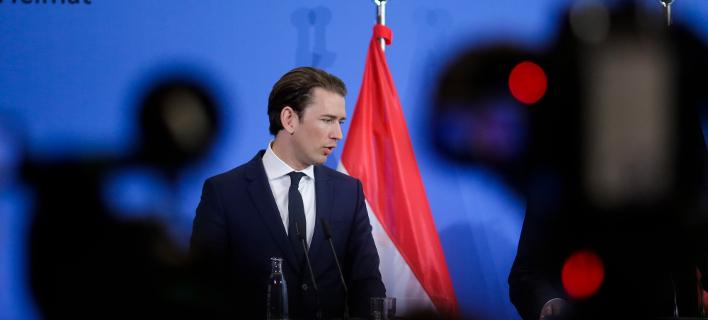 O συντηρητικός καγκελάριος της Αυστρίας, Σεμπάστιαν Κουρτς (Φωτογραφία: ΑΡ)