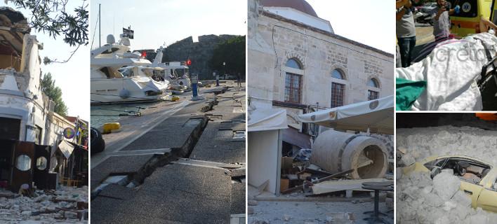 Σεισμός στην Κω: Τούρκος και Σουηδός οι νεκροί -Ακρωτηριάστηκε ένα άτομο