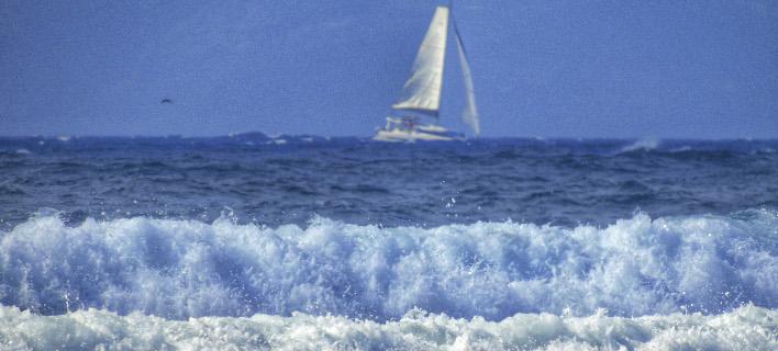 Εως 7 μποφόρ οι άνεμοι στο Αιγαίο (Φωτογραφία: EUROKINISSI/ΓΙΩΡΓΟΣ ΚΟΝΤΑΡΙΝΗΣ)