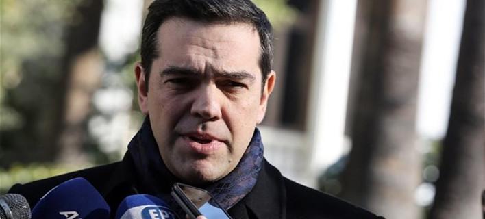 Τσίπρας για Κυπριακό: «Με το χιόνι ήρθε η Γενεύη στην Αθήνα»