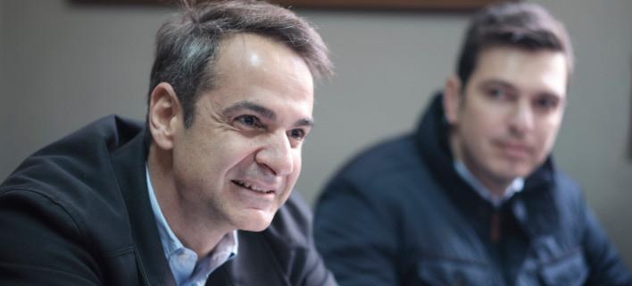 Στην Κρήτη ο πρόεδρος της ΝΔ/Φωτογραφία: IntimeNews