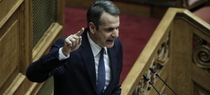 Σφοδρή κριτική κατά του πρωθυπουργού από τον Κυριάκο Μητσοτάκη / Φωτογραφία: SOOC