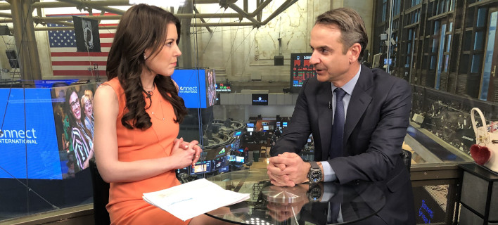 Ο Κυριάκος Μητσοτάκης στη συνέντευξή του στο CNN