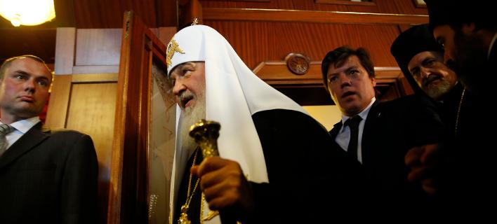 Ο Πατριάρχης της Ρωσίας Κύριλλος/Φωτογραφία: AP