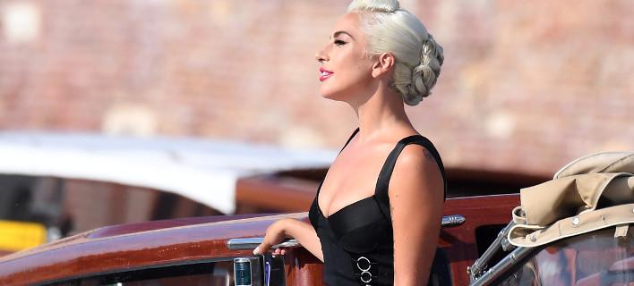 H Lady Gaga στην Βενετία/Φωτογραφία Splash