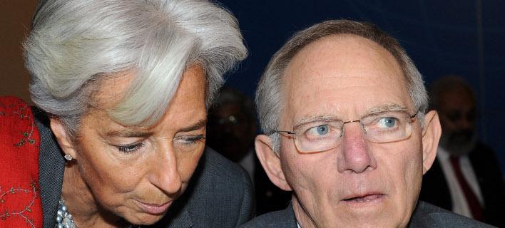 Συνάντηση Σόιμπλε-Λαγκάρντ: Το ΔΝΤ θα παραμείνει σε συζητήσεις με την Ελλάδα
