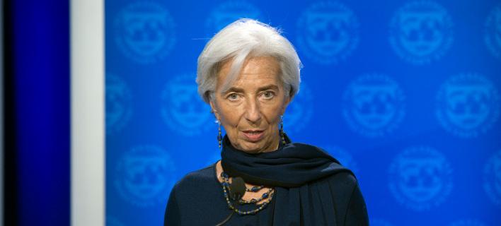 Για τους κινδύνους στην παγκόσμια οικονομία προειδοποιεί η Κριστίν Λαγκάρντ/Φωτογραφία: AP