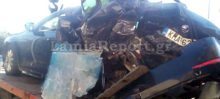 Λαμία: Στην εντατική ο Διοικητής της Τροχαίας Φθιώτιδας -Τον διεμβόλισε άλλο όχημα ενώ ήταν στη ΛΕΑ [εικόνες]
