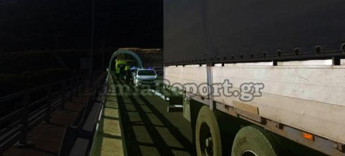 Φθιώτιδα: Εκτροπή ΙΧ στη σήραγγα της Στυλίδας -Διεκόπη η κυκλοφορία