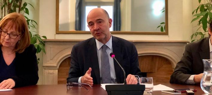 Ο επίτροπος Οικονομικών Υποθέσεων Πιέρ Μοσκοβισί, φωτογραφία: twitter