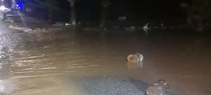 Σοβαρά προβλήματα στη Λάρισα λόγω κακοκαιρίας (Φωτογραφία: onlarissa)