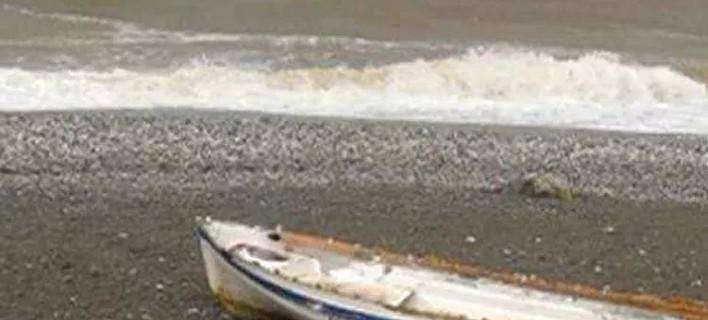 Η κακοκαιρία ανακάτεψε τη θάλασσα στη Λάρισα -Εγινε λάσπη, εικόνες χειμώνα [εικόνες]