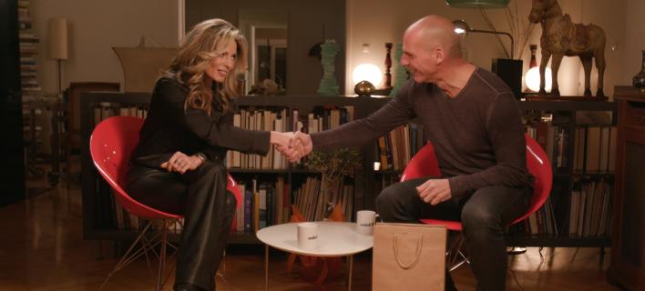 Ο Γιάνης Βαρουφάκης σε ένα «RealtaLK» με την Κατερίνα Λάσπα …που θα συζητηθεί πολύ [εικόνες & βίντεο]