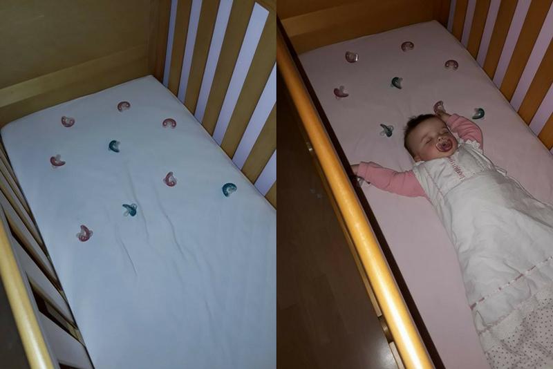 Βρήκε έναν έξυπνο τρόπο για να μην κλαίει το μωρό της αλλά πολλοί δεν τον εγκρίνουν!