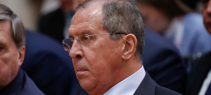 Ο Ρώσος υπουργός Εξωτερικών Σεργκέι Λαβρόφ (Φωτογραφία: ΑΡ)