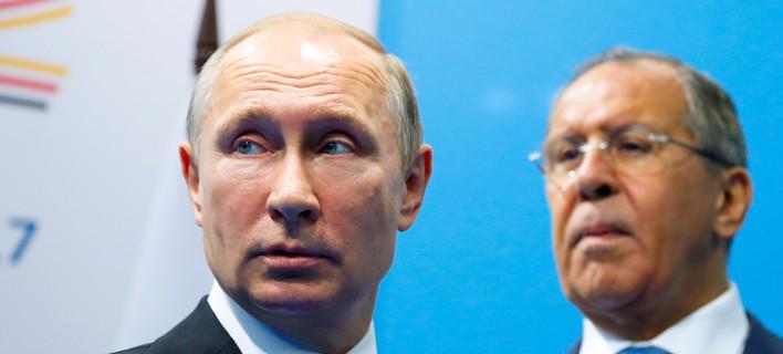 Βλάντιμιρ Πούτιν και Σεργκέι Λαβρόφ /Φωτογραφία: Alexander Zemlianichenko/ AP