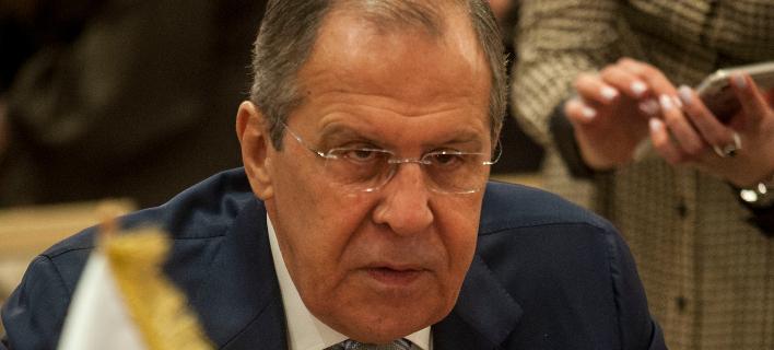 Ο Σεργκέι Λαβρόφ (Φωτογραφία: AP Photo/Hassene Dridi)
