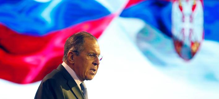 Σεργκέι Λαβρόφ (Φωτογραφία: AP Photo/Darko Vojinovic)
