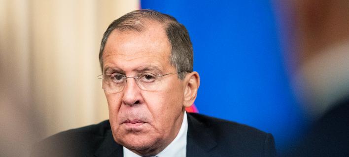 Ο υπουργός Εξωτερικών της Ρωσίας Σεργκέι Λαβρόφ -Φωτογραφία: AP Photo/Pavel Golovkin
